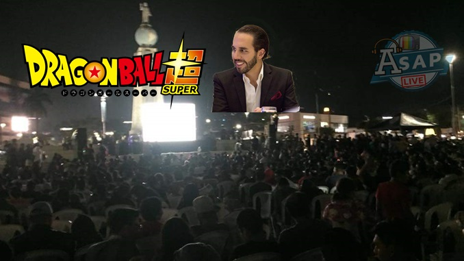 PUBLICAR 113 - Reportan lleno total en evento de Dragon Ball Super en plaza Salvador del Mundo.